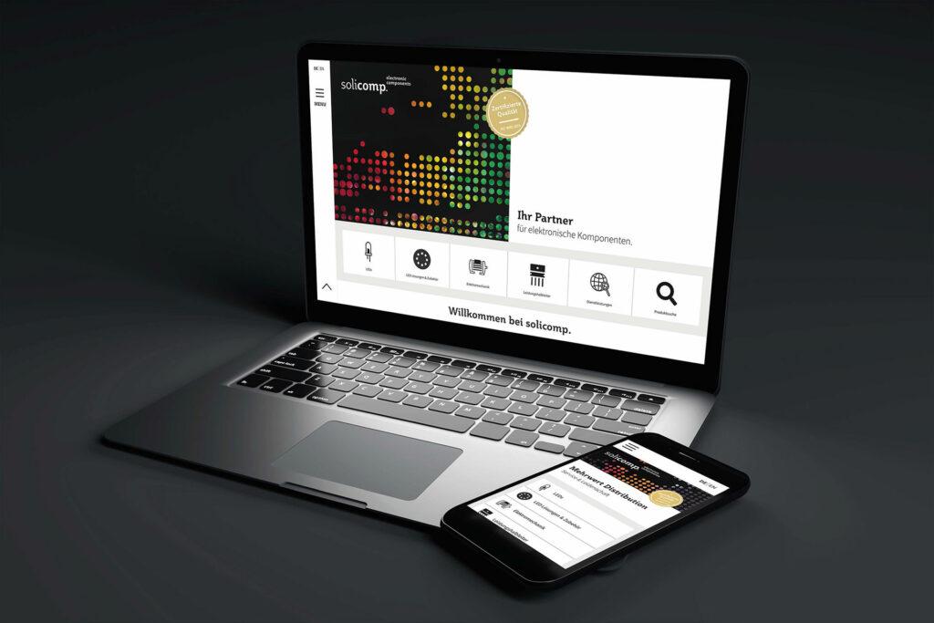 Solicomp – Webdesign