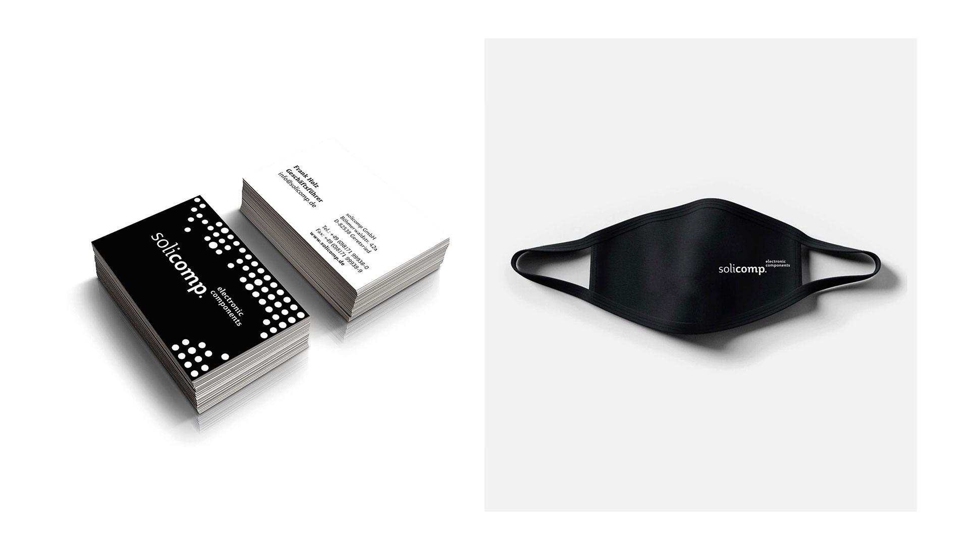 Solicomp – Markendesign und Markenanwendung, Konzeptvorschlag